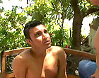 Cute Eric takes a huge cock up the ass at the park