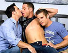 Couple hunks drill pretty Cody like crazed animals