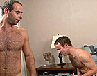 Well hairy Girth seduced his brothers hunky friend
