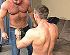 The cable man forced to fuck by a married stud man