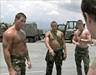 Wild army soldiers marines bum pants warship tv