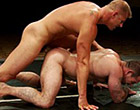 It's battle of tough naked men for sexual domination