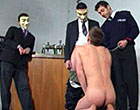 Guys humiliation, sight of his body grovelling around