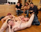 Group of wild Haze Him frat students playing sex!