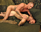 Older military gay men enjoy ass fucking hard