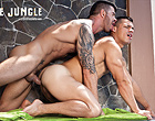 Adam Killian drills a muscle gay dandy in the ass