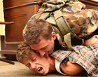 Military gay man forced to deep throat a citizen