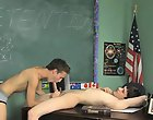 Dustin decides he'll do his best to make poor Damien nervous but Damien is up for the challenge gay sex video twink