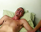 He is straight, but he has done some gay porn before so he isn't quite as shy as some of the guys that show up for