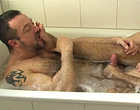 Old hairy gay porn men barebacking in the tub