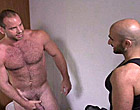 Hunky plumber seduced and fucked a hairy gay man