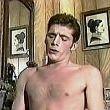 Gay Army Movies - Stud Gets Messy Facial Cumshot