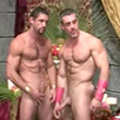 Gay Muscular Movies - Sexy Muscle King Of Roman Tasting On Cock And Ass