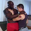 Gay Muscular Movies - Interracial Hunks Perform Bonk